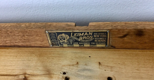 Leiman Bros. Jewelers Work Bench