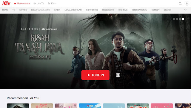 Streaming Film (Iflix)