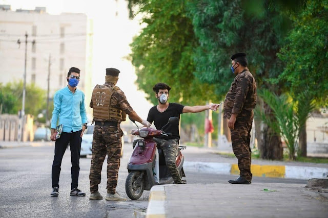 مديرية المرور العامة تمنع قيادة الدراجات النارية ذات العجلتين في بغداد والمحافظات كافة