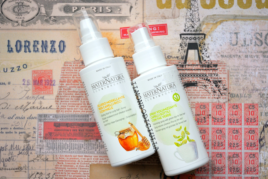 Favoloso Maternatura Spray Volumizzante Capelli Sottili Con The Verde e  ES28
