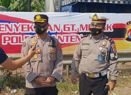 Hari Kelima Polda Banten Operasi, 801 Kendaraan Diputar-balikkan