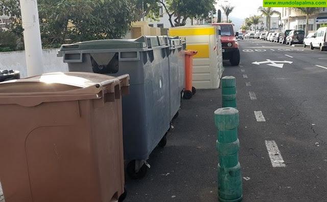 El Ayuntamiento de Los Llanos amplía el servicio de recogida de basura en los barrios de Triana y La Montaña
