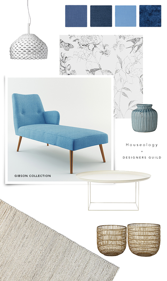 Gibson collection by Designers Guild at Houseology