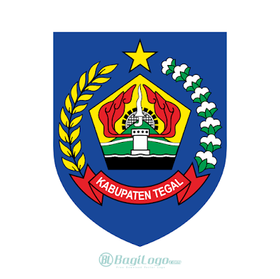 Kabupaten Tegal Logo Vector
