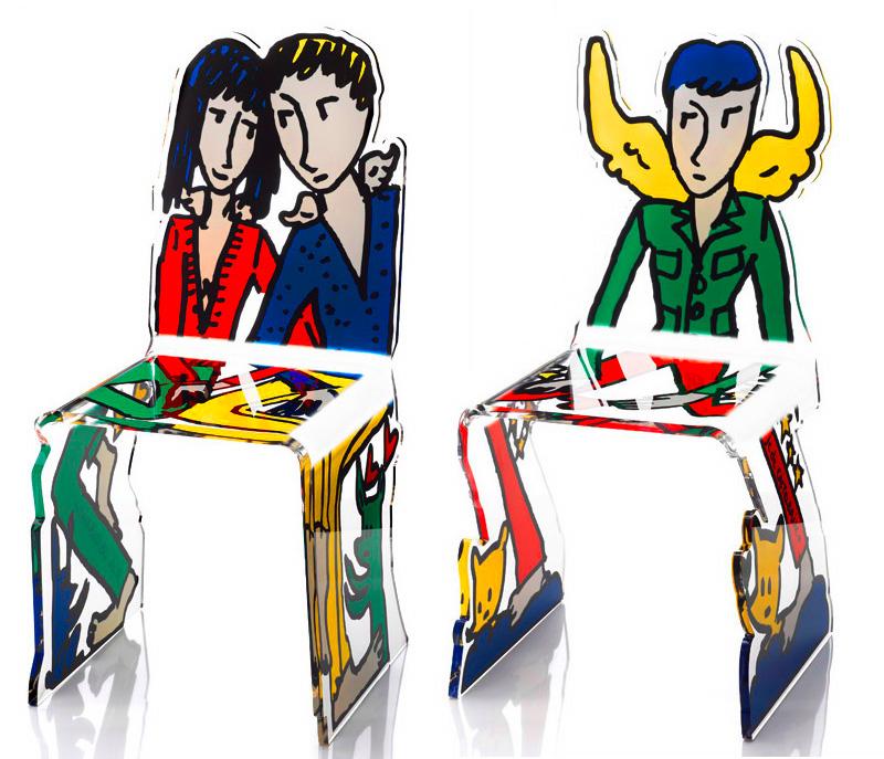 acrylic printed furniture