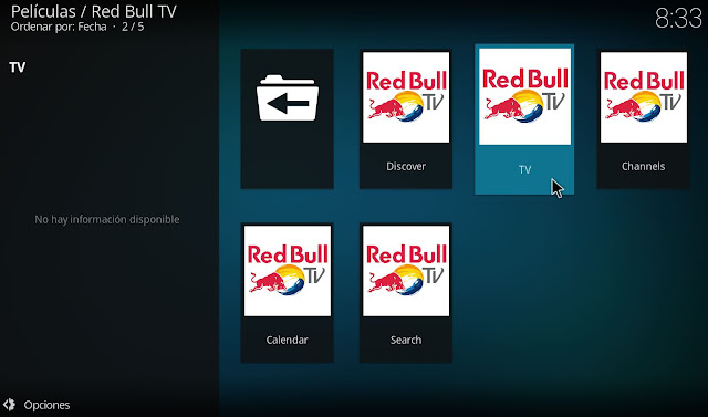 Red Bull TV Addon KODI