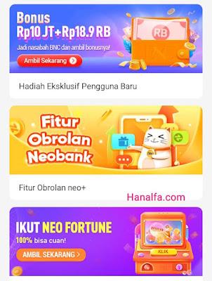 Pengalaman Cara Cepat Mendapatkan Uang di Aplikasi Neo+ Plus Berhasil Dapat Saldo Tarik Transfer Dana dan Bank Lain