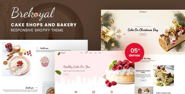 Best Cake and Bakery Responsive Shopify Theme