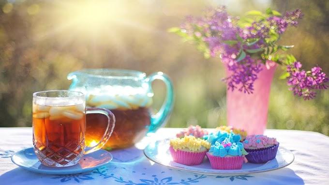Papel de Parede Chá Gelado