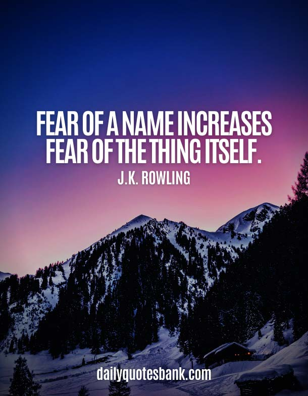 Inspirational Quotes About Fear Of Failure and Success