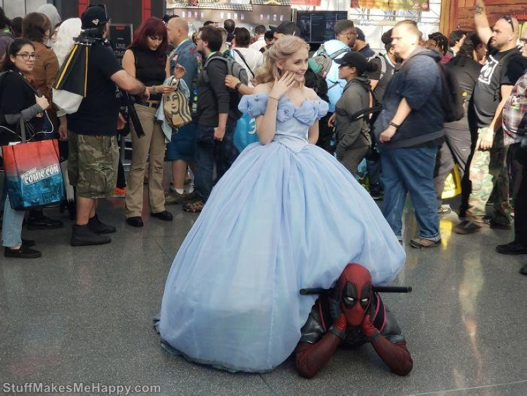 Cinderella and Deadpool