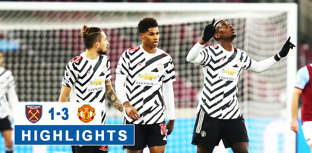 West Ham United vs Manchester United – Highlights