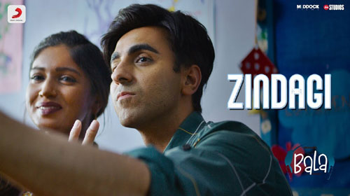 Zindagi Lyrics - Bala - Papon
