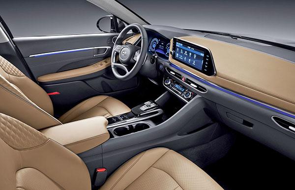 Burlappcar 2020 Hyundai Sonata Interior