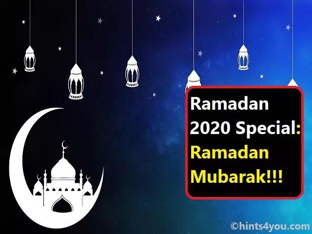 Ramadan 2020 Special: Is Ramadan Fasting Healthy | Ramadan Mubarak