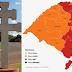 São Luiz Gonzaga e região das Missões permanece na Bandeira Laranja