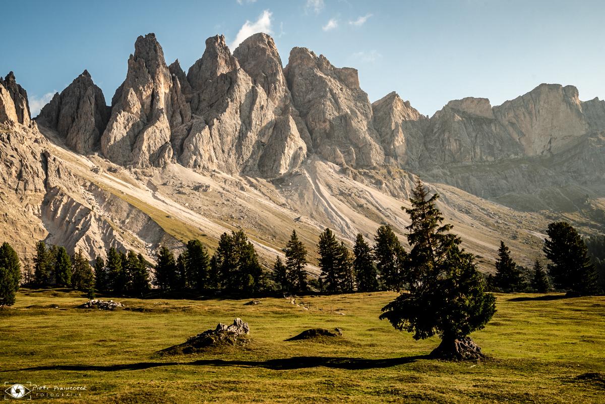 Geisler Alm Szlaki w Dolomitach
