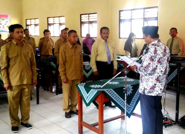 Penyegaran, Pelantikan 3 Kepsek Muhammadiyah Watukebo Sekaligus