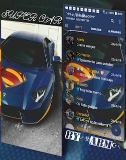 Super Car Theme For YOWhatsApp & Fouad WhatsApp By ALBERTO