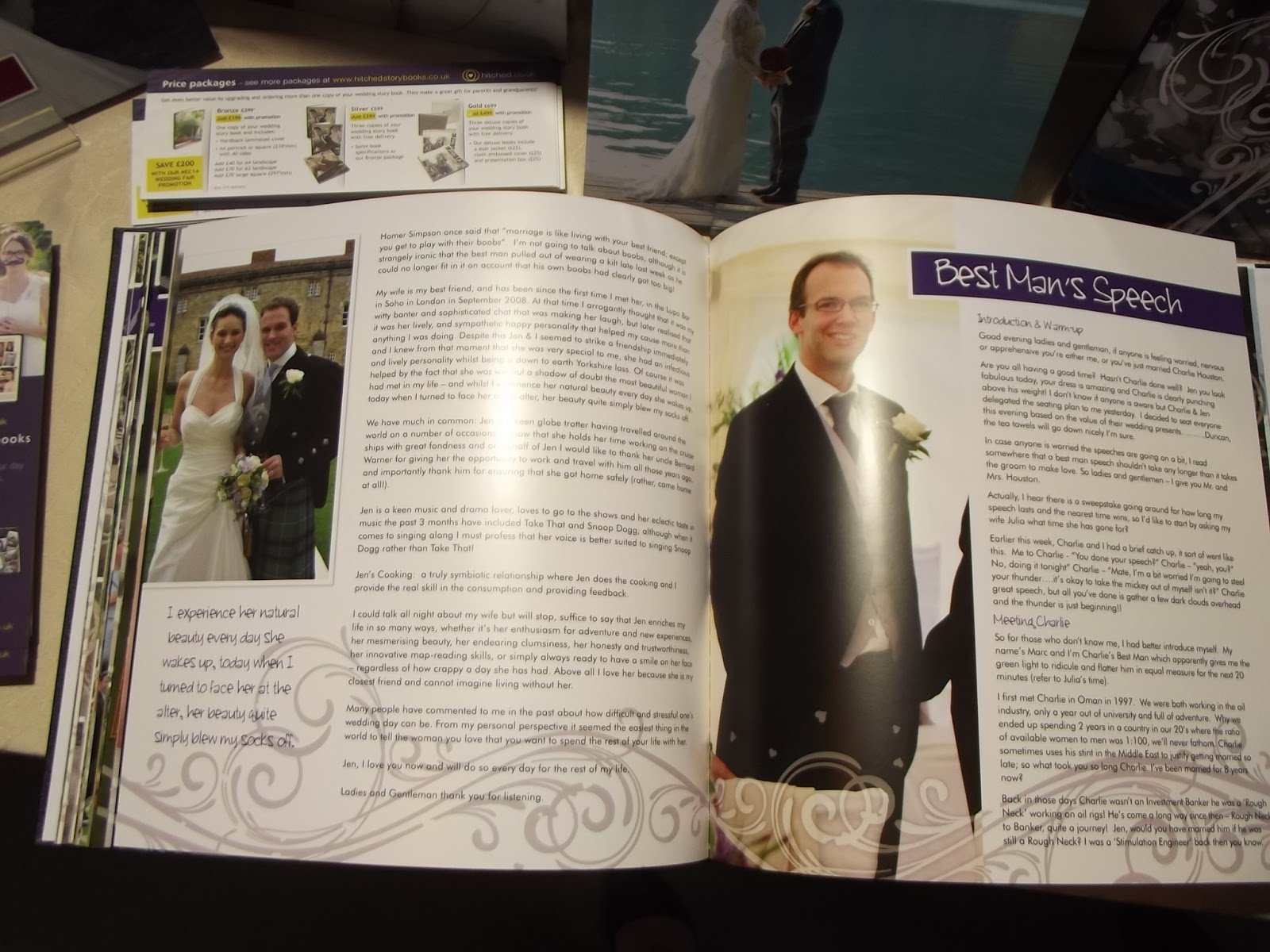 National Wedding Show NEC 2014 Hitched Wedding Story Books