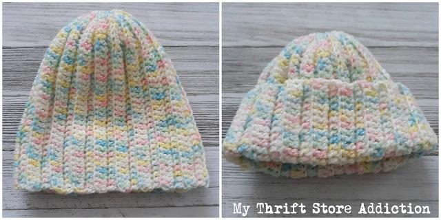 handmade newborn cap