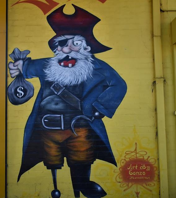 Granville Street Art | Captain Cash Loans