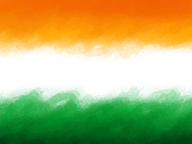 Indian Flag Theme: The Artist: Coloring