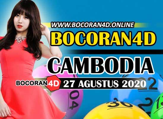Bocoran Misteri 4D Cambodia 27 Agustus 2020