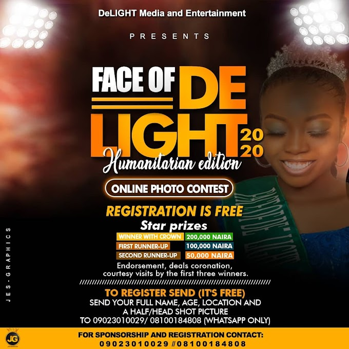 FACE OF DELIGHT ENT. 2020