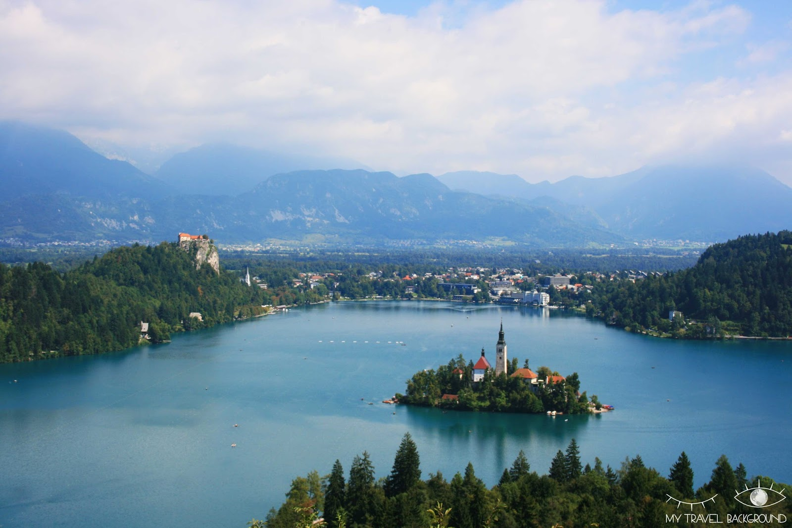My Travel Background : mon Road Trip en Europe en train avec le pass Interrail, itinéraire, budget & co ! - Lac de Bled, Slovénie