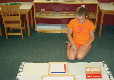 NAMC worksheets and workbooks in the montessori prepared environment math materials