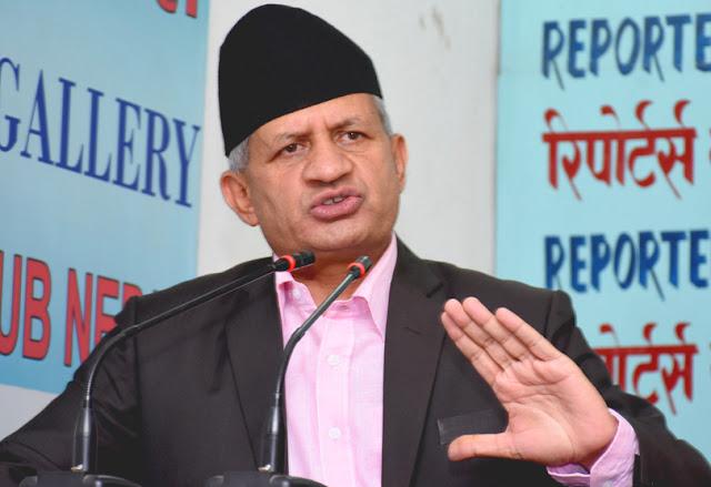 Foreign Minister of Nepal Pradeep Kumar Gyawali