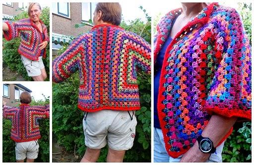Lindevrouwsweb Granny Square Vest