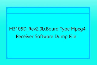 M3105d_rev2.0b.board Type Mpeg4 Receiver Software Dump File