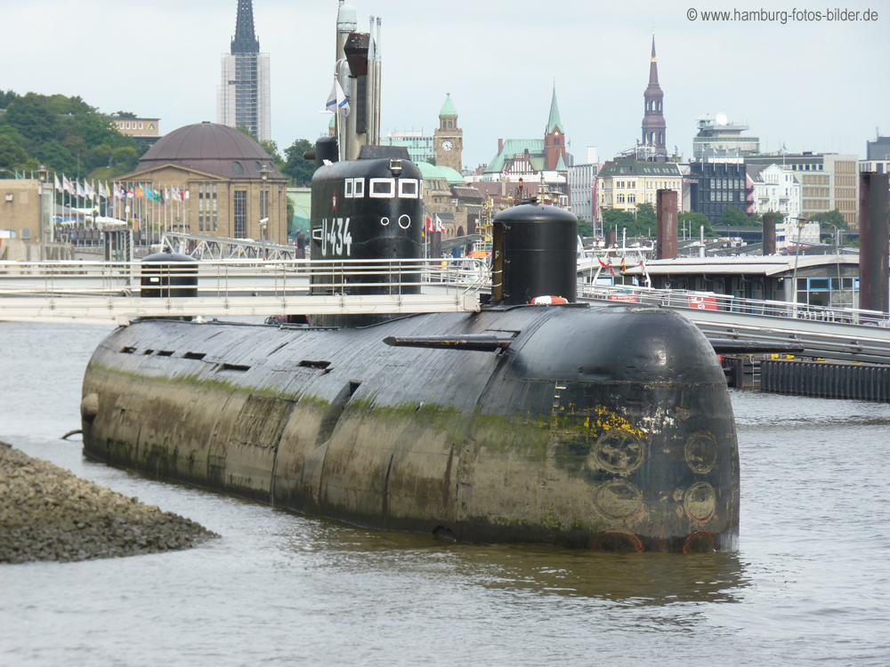 U-Boot 434 - Hamburg Sehenswürdigkeiten Top 10