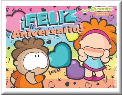 Feliz aniversario, postales de feliz aniversario