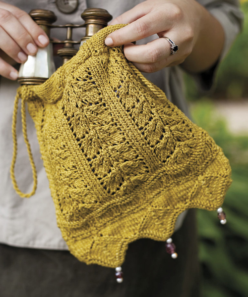 Netherfield Evening Bag - Knitting Pattern