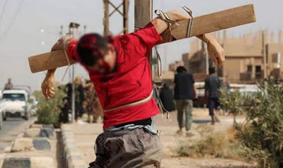 ISIS crucified Christian