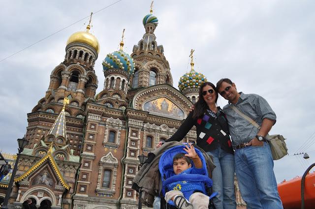 Catedral do Salvador do Sangue Derramado em São Petersburgo, na Rússia