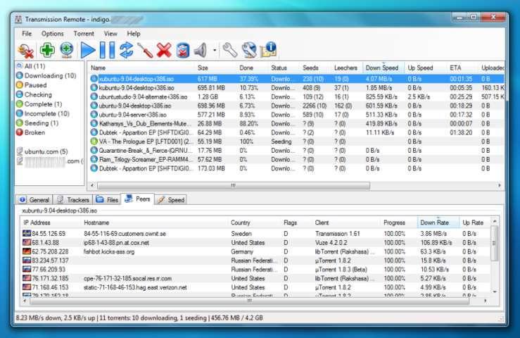 Transmission – Best Torrent Software