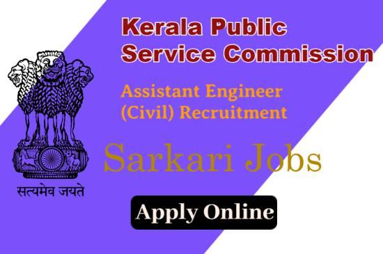 41 Assistant Engineer (Civil) Recruitment in Kerala Public Service Commission