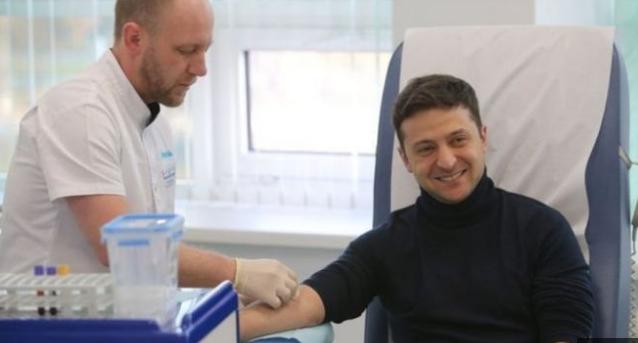 اوكرانيا تجري اختبار الادمان للمرشحين للانتخابات الرئاسية.
