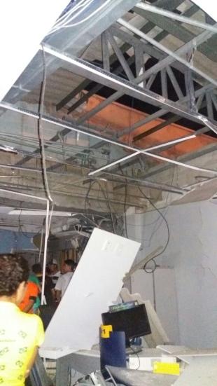 Em Jaguaribara-CE: Agência bancária é explodida durante tentativa de assalto