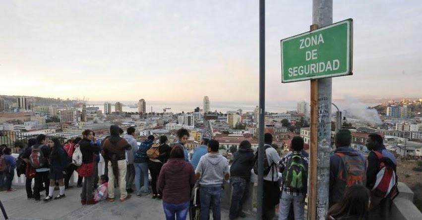 Terremoto en Chile de Magnitud 6.6 (Hoy Martes 21 Septiembre 2021) Sismo - Temblor - Epicentro - Santiago - Biobío - Ñuble - Lebu - ONEMI