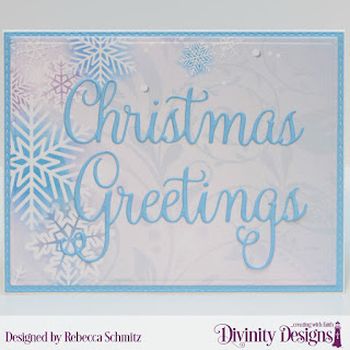 Custom Dies: Christmas Greetings, Rectangles, Double Stitched Rectangles  Paper Collection: Christmas 2019