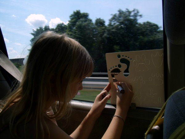 road trip activities for kids crafting