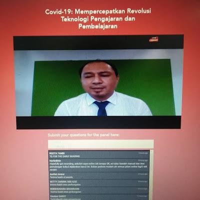 Webinar bersama Astro Awani: Revolusi Teknologi dalam PdPc