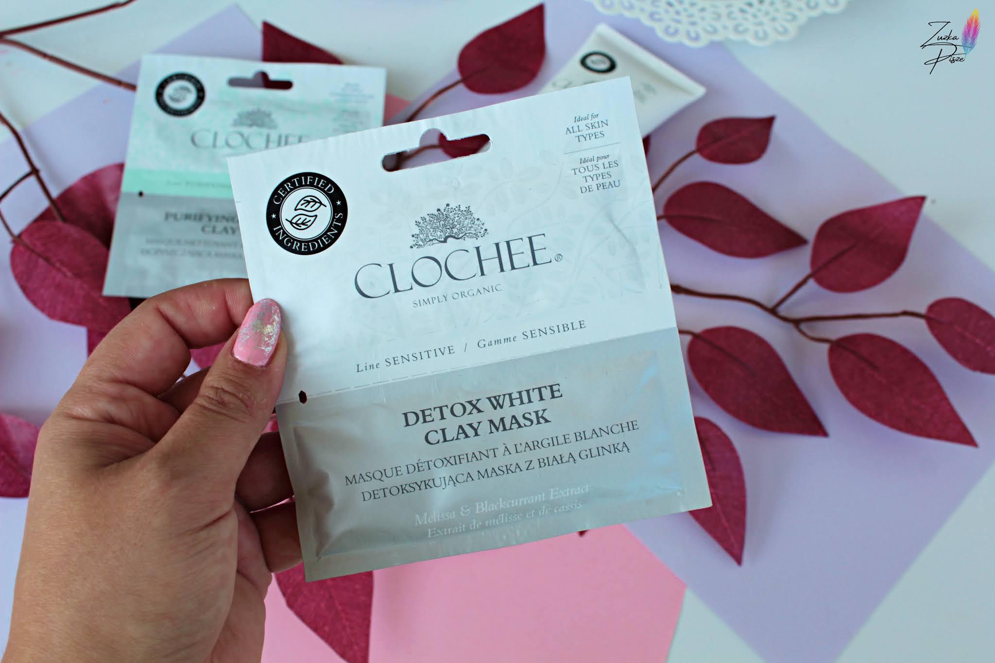 Clochee Detox White Clay Mask Detoksykująca maska z białą glinką
