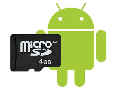 Partisi Kartu Memori Di Ponsel Android