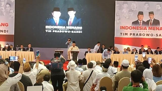 Orang Teriak Takbir Dicurigai, Prabowo Putarkan Pidato 'Allahu Akbar' Bung Tomo